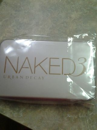 URBAN DECAY NAKED 3 MAKEUP BRUSHES. NEW SET OF 12