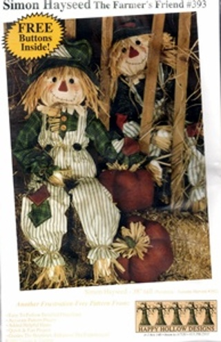 Free: Doll Patterns Simon Hayseed Scarecrow - Sewing - Listia.com ...