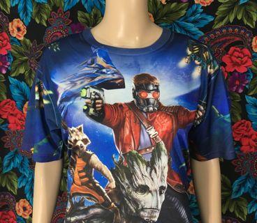 MEN'S Guardians Of The Galaxy Shirt FREE SHIPPING