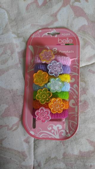 8 Belle Ponytail Scrunchie