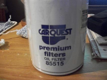 carquest premium oil filter 85515/ wix 51515