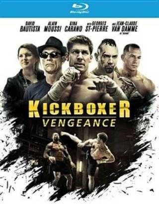 2016 Kickboxer Vengeance Blu-ray Disc Movie-Jean-Claude Van Damme-New & Sealed!