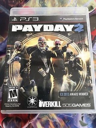 ps3 payday2