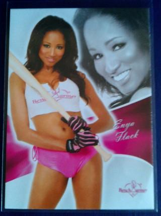 Enya Flack 2011 Benchwarmer Base Card #35