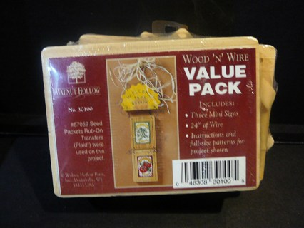 Wood and Wire Value Pack Craft Kit