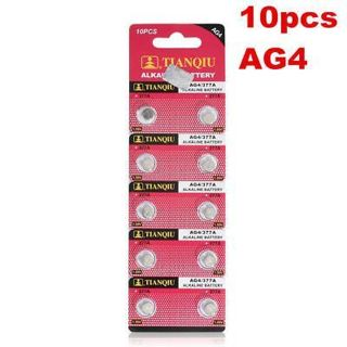 10 Pieces 1.5V SR626SW/AG4/LR626/377A Button Coin Cell Battery SR626 Battery