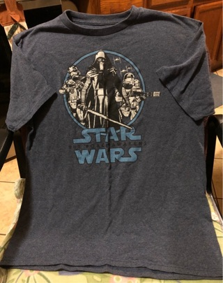Boy's SZ XL Star Wars Tee Shirt