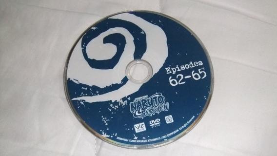 Free: Naruto Shippuden Episodes 62 - 65 DVD Anime TV Show