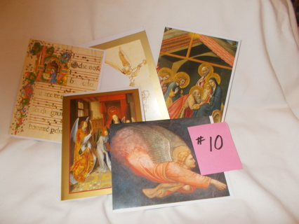 #10 - 5 New Christmas Cards