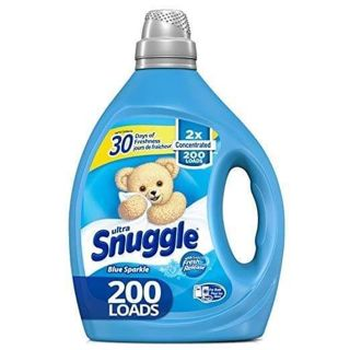 ⭐ SNUGGLE ULTRAFABRIC SOFTENER 200 LOADS 2X CONCENTRATED ' BLUE SPARKLE ⭐