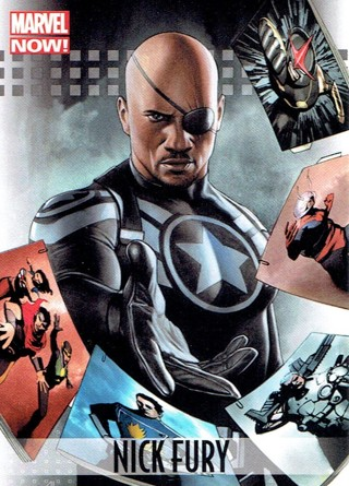 2013 Marvel Now Collectible Card #73 Nick Fury