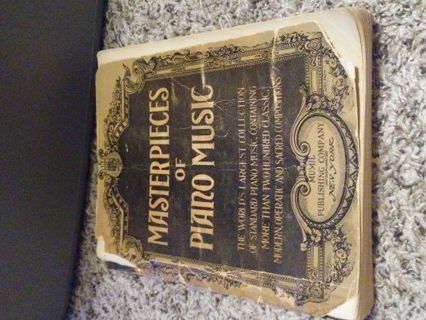 1922 MasterPieces of Piano Music