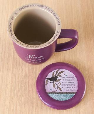 Nana Mug & Coaster Set With Saying