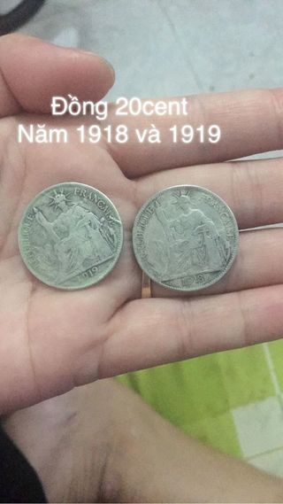 coins in 1918, 1919