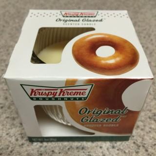 KRISPY KREME Original Glazed DONUT Doughnuts Scented CANDLE - Smells Yummy!!