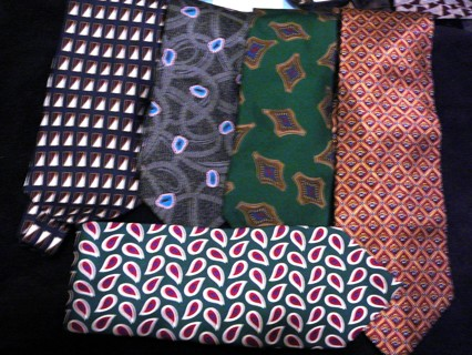5 Great Men's Ties, Neo, Valentino, Jos A Banks, etc