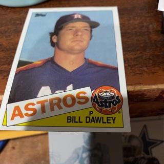 1985 topps Bill dawley baseball card