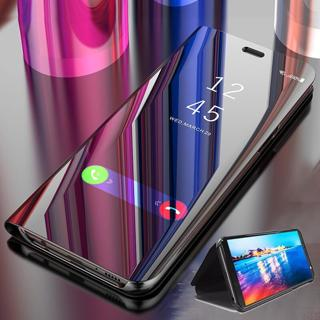Smart Mirror Flip Case For Samsung Galaxy S8 S9 Plus S7 Edge A5 A3 A7 J3 J7 J5 2017 J4 J6 J8 A6 Pl