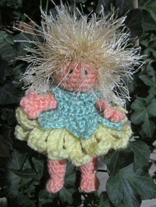 Fairy Doll. Crocheted by Me. New.