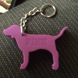 BN VS PINK Dog key chain