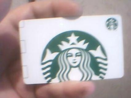 $5:00 Starbucks gift card