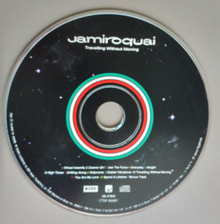 JAMIROQUAI - TRAVELLING WITHOUT MOVING - [CD ONLY]