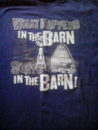 what happens in the barn  stays there