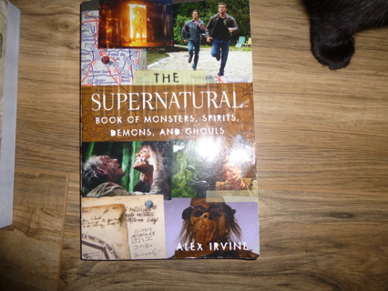 Supernatural Book of Monsters Spirits Demons and Ghouls