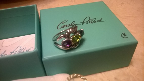 Carolyn Pollack Sterling Silver Ring Size 6 NEW