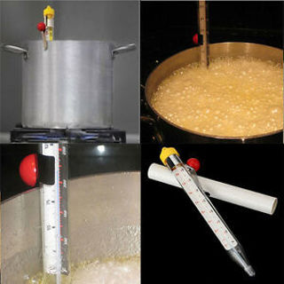 Food-safe Kitchen Temperature Read Stick Thermometer Cooking Jam Sugar Candy NEW