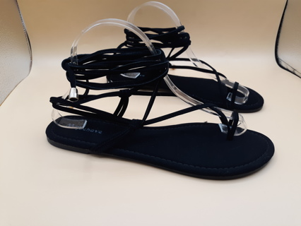 MISBEHAVE GLADIATOR LACE UP SANDALS