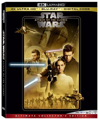 Star Wars : Episode II - Attack of The Clones (4K Digital UHD Download Code Only) **Sci-Fi**