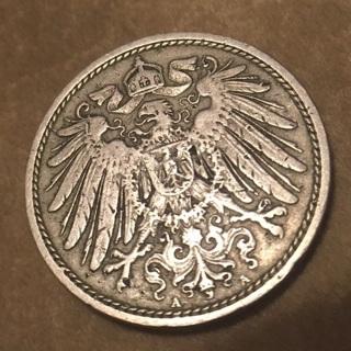 1902 & 1874 German empire coins