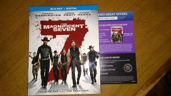 The magnificent seven digital code.