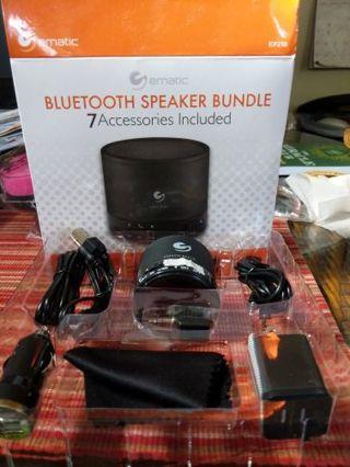 Ematic Bluetooth speaker bundle