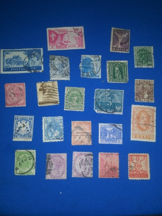 A55) Stamp Lot