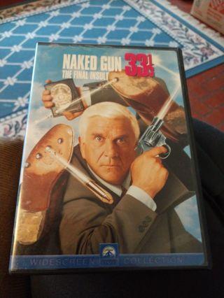 Naked Gun 33 1/3 DVD