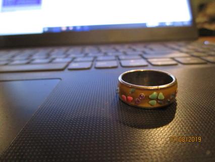 vintage beautiful  found ring