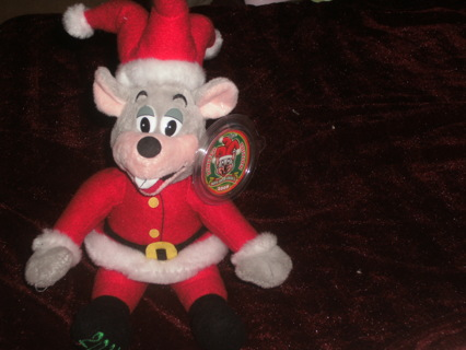 Chuck E Cheese Christmas.Free 2008 Limited Edition Santa Jester Chuck E Cheese