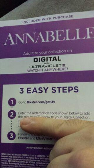 Annabelle uv code