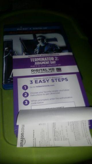 Terminator 2 judgment day digital ultraviolet code