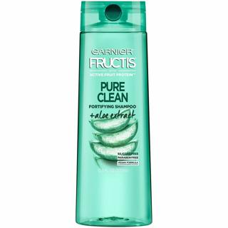 ☺~ 3 Pack - Garnier Hair Care Fructis Pure Clean Shampoo, 12.5 Fluid Ounce, 3 Count ~☺
