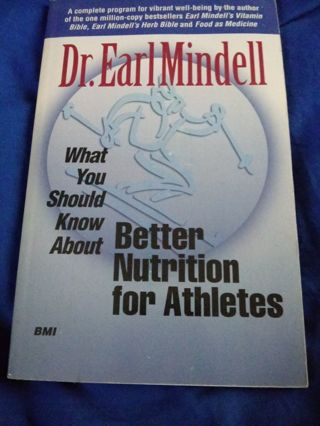 Used Book. Better Nutrition for Athletes