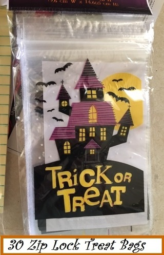 ❄(New) <6 Days Only> 30 Halloween Ziploc Treat Bags ❄