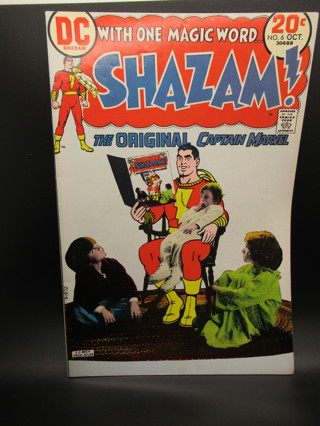 SHAZAM - THE ORIGINAL CAPTAIN MARVEL NO.6