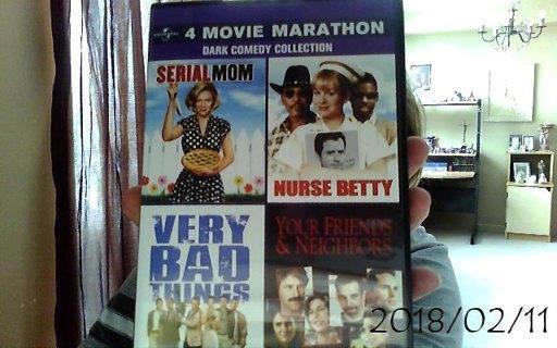 4 Movie Marathon: Dark Comedy Collection