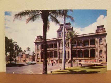 IOLANI PLACE postcard