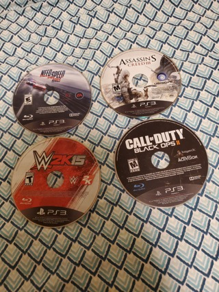Four PlayStation 3 Games Lot