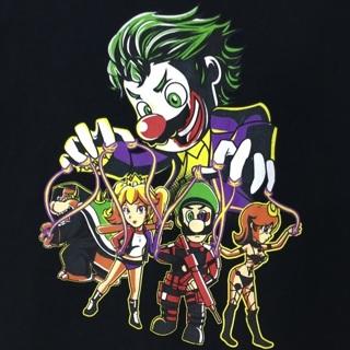 Mario Bros. Video Game Parody Joker Suicide Squad Mashup Shirt Puppet Master Game Tee FREE SHIPPING