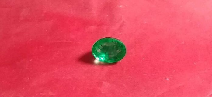 EMERALD NATURAL FROM ZAMBIA HUGE 13.89 CARATS SIZE 12X16 HUGE MM'S BEAUTIFUL!